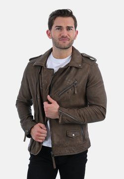 Oakwood - SOLDIER - Leren jas - brown