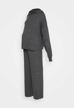 Anna Field MAMA - SET - Jersey de punto - dark grey