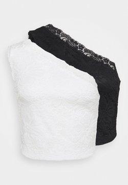 Even&Odd Petite - 2 PACK - Top - black/white
