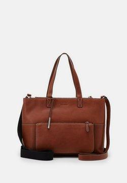 Marc O'Polo - SHOPPER - Shopping Bag - authentic cognac