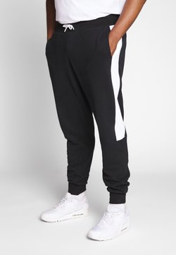 Calvin Klein - LOGO STRIPE  - Jogginghose - black