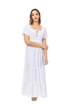 Tantra - Maxikleid - white