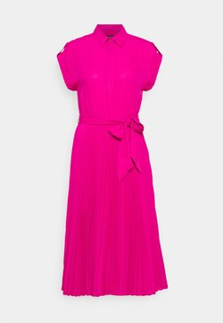 Lauren Ralph Lauren - DRAPEY DRESS - Vestido camisero - nouveau bright pi