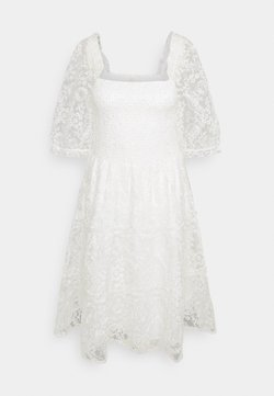 YAS - YASBRIANNA SHORT DRESS  - Vestido informal - star white