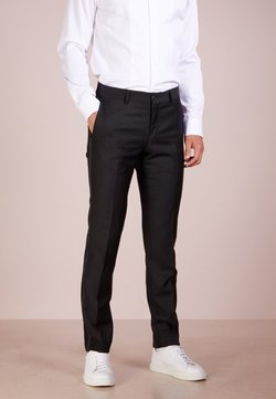 Tiger of Sweden - TERRISS TUXEDO PANTS - Pantaloni eleganti - black