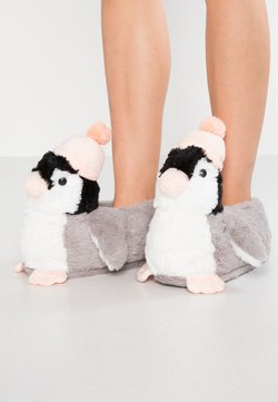 South Beach - PENGUIN SLIPPER - Chaussons - grey