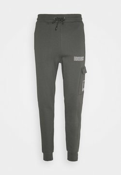 Hoodrich - Cargobroek - grey/white
