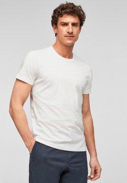 s.Oliver BLACK LABEL - T-Shirt print - white stripes