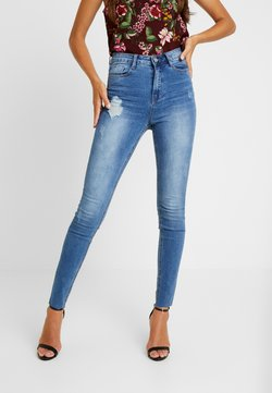 Missguided - SINNER CLEAN DISTRESSED - Jeans Skinny - blue