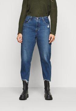 Levi's® Plus - 501® CROP - Jean slim - dark blue denim
