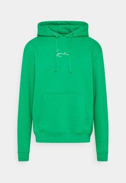 Karl Kani - UNISEX SMALL SIGNATURE HOODIE - Sweatshirt - green