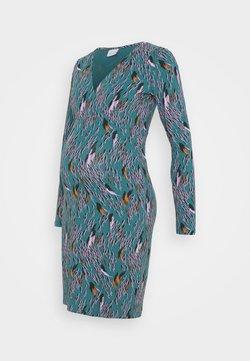 MAMALICIOUS - MLADDIS TESS DRESS - Vestido ligero - mallard blue