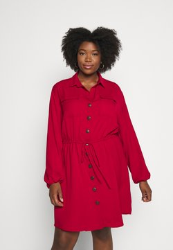 CAPSULE by Simply Be - DRESS - Blusenkleid - red