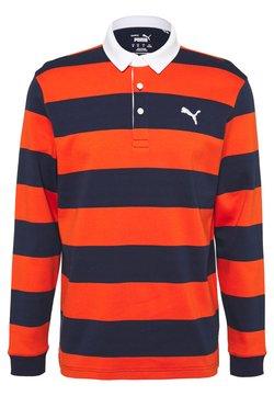 Puma Golf - BRIDGES RUGBY - Polo shirt - pureed pumpkin