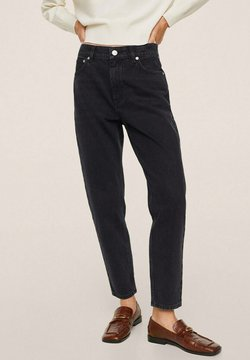 Mango - Jeans relaxed fit - black denim
