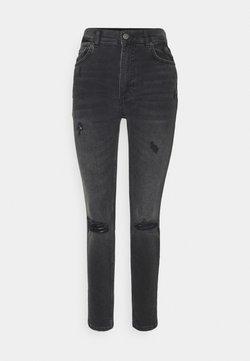 Boyish - ZACHARY HIGH RISE SKINNY - Jeans Skinny Fit - dark grey