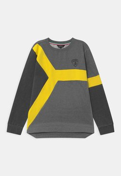 Automobili Lamborghini Kidswear - COLOR INSERT - Sweater - grey estoque