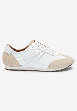 Next - SIGNATURE - Sznurowane obuwie sportowe - off-white