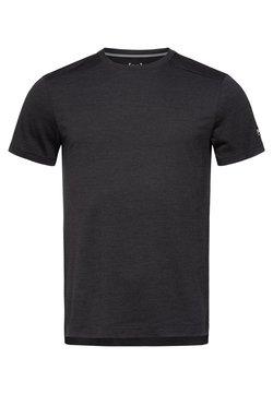 super.natural - HIGHWOOD - T-Shirt basic - black