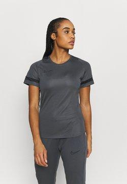 Nike Performance - Printtipaita - anthracite/black