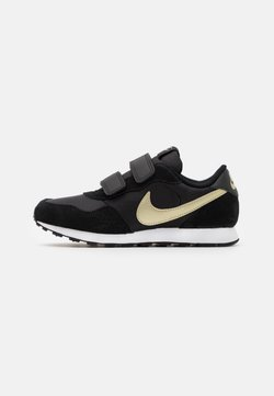 Nike Sportswear - VALIANT  - Matalavartiset tennarit - black/metallic gold star/white