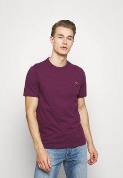 Farah - DENNIS SOLID TEE - T-shirt print - purple marl