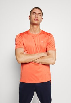 Calvin Klein Performance - SHORT SLEEVE - T-Shirt print - red