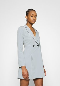 Who What Wear - JACKET DRESS - Etuikleid - grey