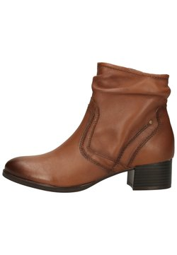 Jana - STIEFELETTE - Ankle Boot - chestnut