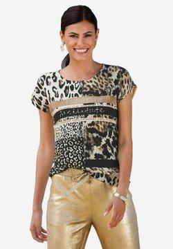 Amy Vermont - Bluse - beige schwarz