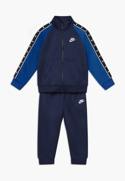 Nike Sportswear - TRICOT TAPING SET - Survêtement - midnight navy