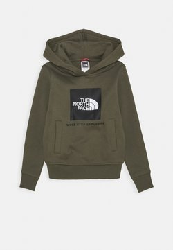 The North Face - NEW BOX CREW HOODIE UNISEX - Kapuzenpullover - new taupe green