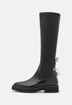 Christopher Kane - FLAT HIGH SOCK BOOT - Platform boots - black