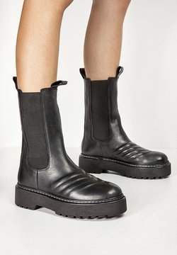 Inuovo - Plateaustiefel - black blk
