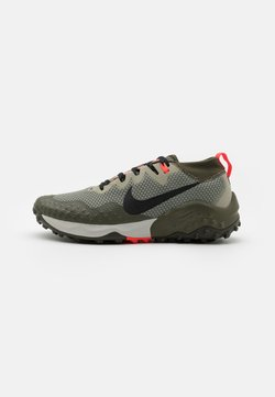 Nike Performance - WILDHORSE 7 - Zapatillas de trail running - light army/black/cargo khaki/bright crimson/sequoia/light bone
