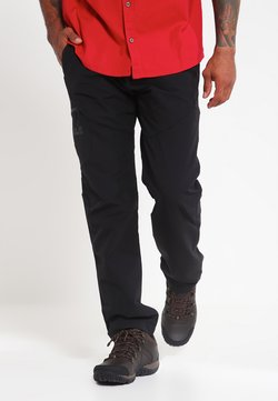 Jack Wolfskin - CHILLY  - Stoffhose - black