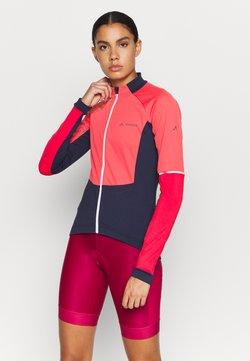 Vaude - WOMENS RESCA WIND TRICOT - Pitkähihainen paita - bright pink