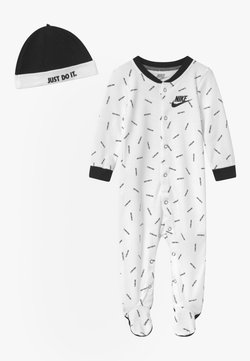 Nike Sportswear - TOSS FOOT COVERALL SET - Bonnet - white