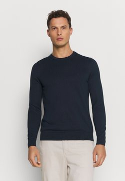 Marc O'Polo - CREW NECK - Strickpullover - total eclipse