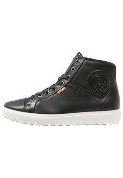 ECCO - SOFT VII - Höga sneakers - black