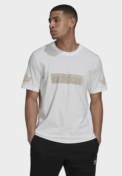 adidas Originals - Printtipaita - white