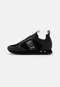 EA7 Emporio Armani - UNISEX - Sneaker low - black