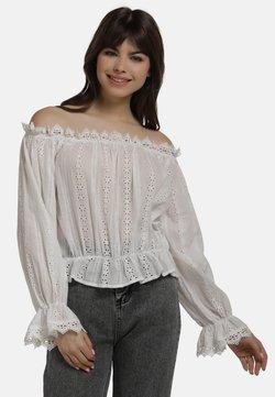 myMo - BLUSE - Bluse - white