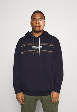 Jack & Jones - JJSHAKER HOOD  - Sweat à capuche - navy blazer