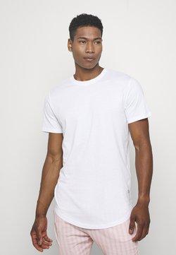 Jack & Jones - JJENOATEE CREW NECK  - T-Shirt basic - white