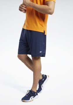 Reebok - WORKOUT READY ACTIVCHILL SHORTS - kurze Sporthose - blue