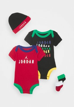 Jordan - LEGACY OF SPORT HAT BODYSUIT BOOTIE SET UNISEX - Bonnet - black