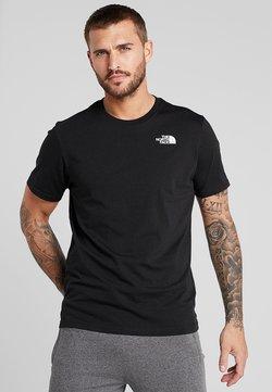 The North Face - REDBOX TEE - T-shirt print - black