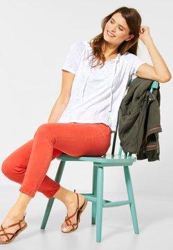Cecil - T-Shirt basic - weiß