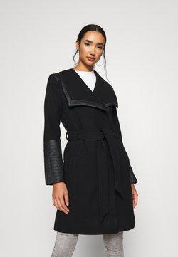 ONLY - ONLELLY MIX COAT - Classic coat - black